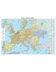 Európa országai falitérkép...