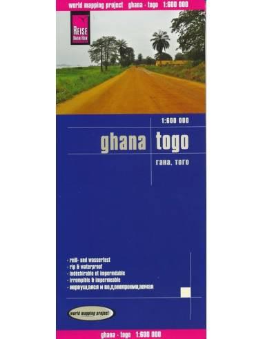 RKH Ghana, Togo térkép