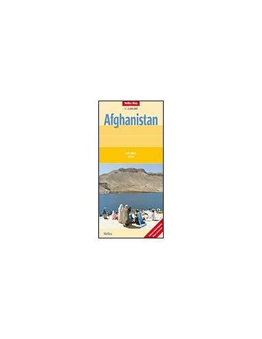 Afganisztán térkép - Afghanistan
