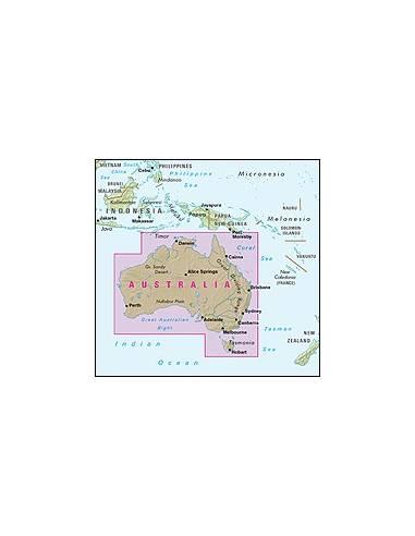 Ausztrália térkép - Australia