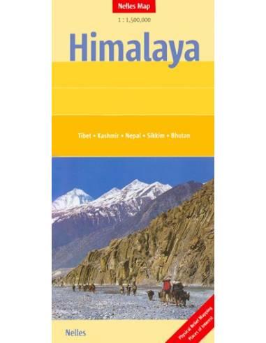 Himalája térkép - Himalaya