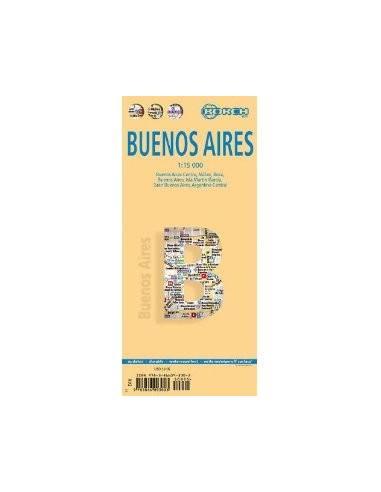 Buenos Aires térkép (laminált) - BORCH
