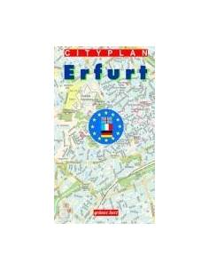 Erfurt térkép