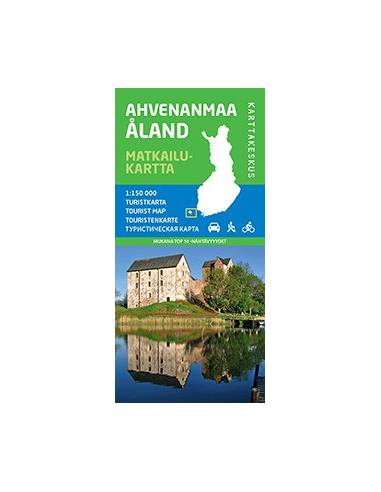 Ahvenanmaa - Åland turistatérkép