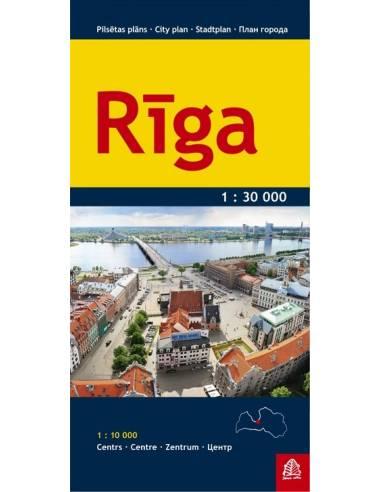 Riga várostérkép