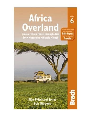Africa Overland Bradt útikönyv