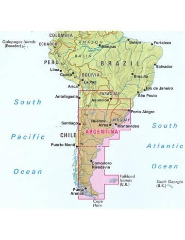 Argentína dél, Patagónia, Uruguay...
