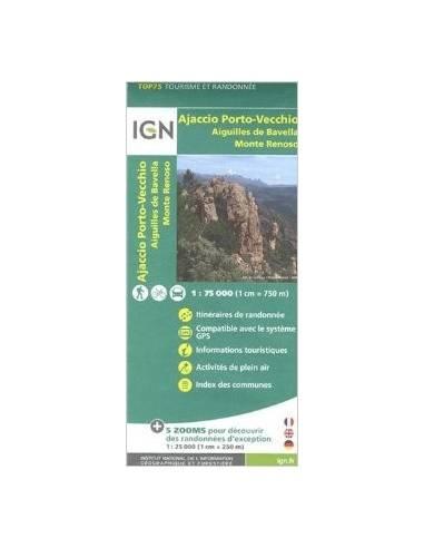 IGN 031 Ajaccio, Porto Vecchio,...