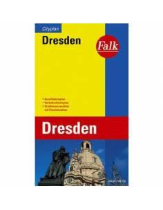 Dresden - Drezda térkép...