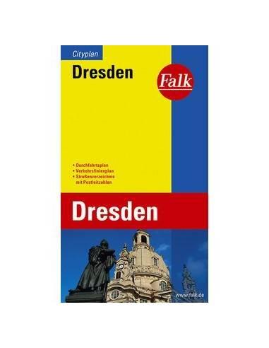Dresden - Drezda térkép cityplan