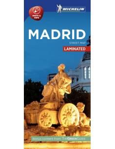 Madrid laminált térkép -...
