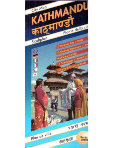 Katmandu térkép