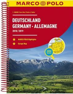 Deutschland Reiseatlas...