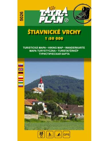 TM 5026 Stiavnicke Vrchy - Selmeci...