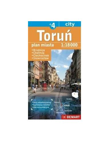Torun +4 város térképe - Brodnica,...