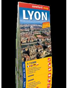 Lyon térkép - Comfort! map