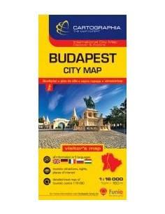 Budapest belváros térkép