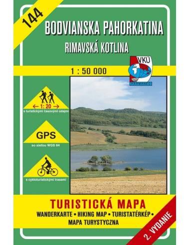 ETM 144 Bódvai-dombság - Rima-medence...