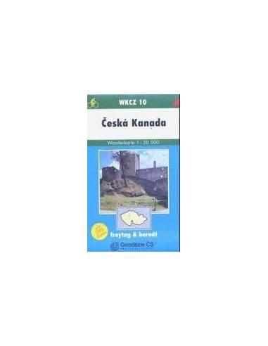 WKCZ 10 Ceska Kanada térkép
