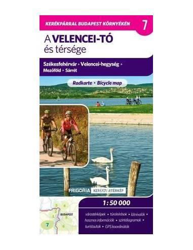 A Velencei-tó és térsége térkép -...