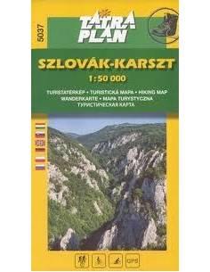 TM 5037 Szlovák- Karszt térkép