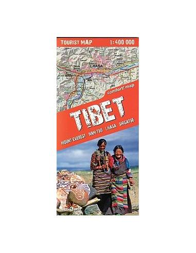 Tibet comfort!map - Mount Everest,...