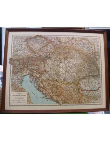Osztrák-Magyar Monarchia 1914 térkép...