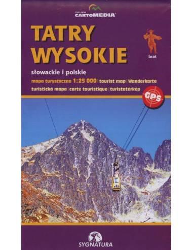 Tatry Wysokie - Slowackie i Polskie -...
