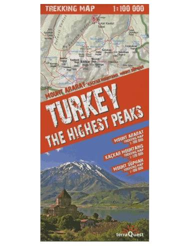 Turkey The Highest Peaks comfort!map...