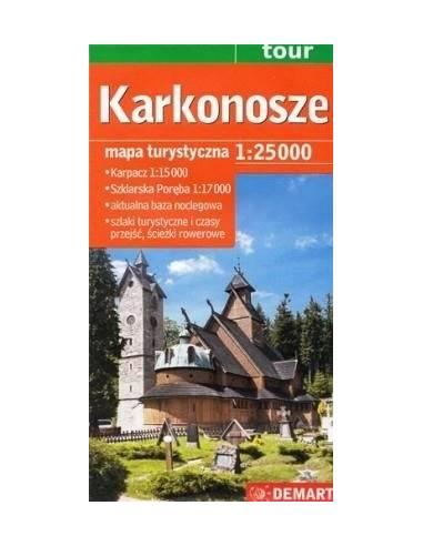 Karkonosze - Óriás-hegység turistatérkép