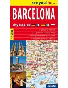 Barcelona várostérkép