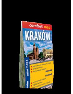 Kraków - Krakkó zsebtérkép...