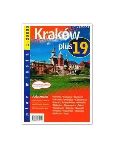 Krakkó és 19 település atlasz