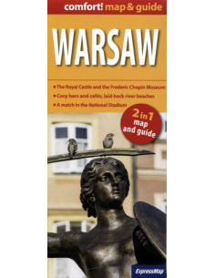 Warsaw comfort! map & guide...