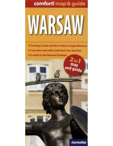 Warsaw comfort! map & guide - Varsó...