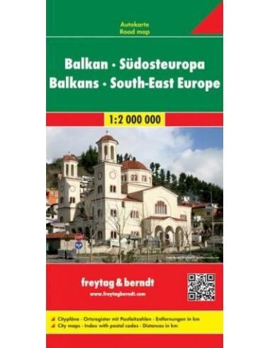 South-East Europa - Balkans - Balkáni...