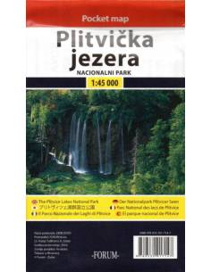 Plitvička jezera Pocket map...