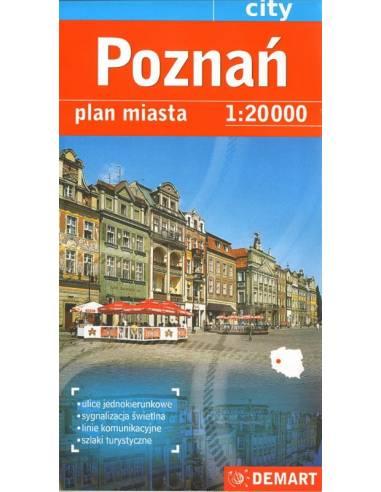 Poznan várostérkép