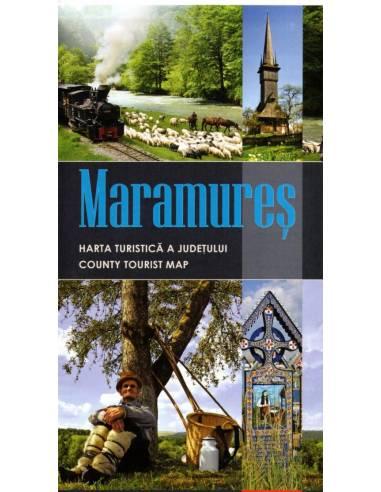 SF Máramaros - Maramureş térkép