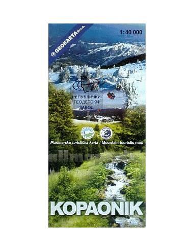 Kopaonik Nemzeti Park térkép