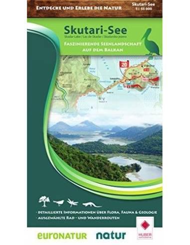 Skutari-See - Skadar Lake térkép