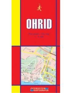 Ohrid térkép