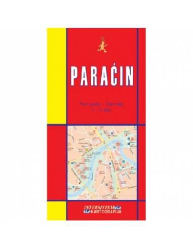Paracin várostérkép