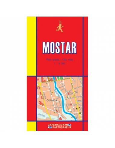 Mostar várostérkép