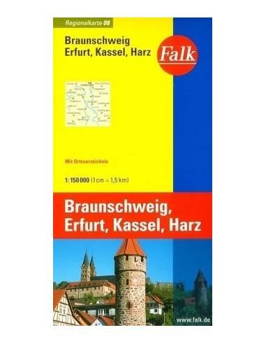 Braunschweig - Erfurt - Kassel - Harz...