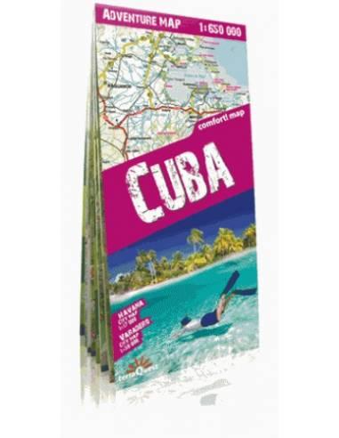 Cuba adventure comfort! map - Kuba...