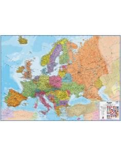 Európa politikai falitérkép...