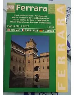 Ferrara térkép
