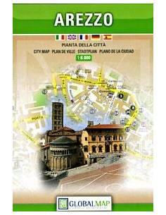 Arezzo térkép (Global map)
