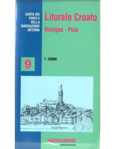 Horvát tengerpart. 9.: Rovinj - Pula...